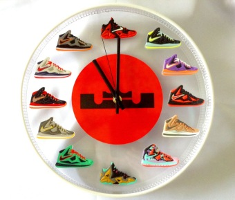 Lebron James Wall Clock