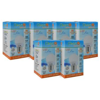 LED Bulb LLG45E27-3W-WW Set of 6 - 2