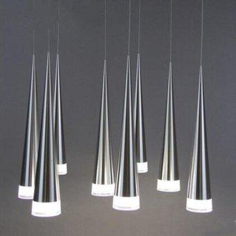 Led Conical Pendant Light Aluminum&metal Home IndustrialLighting Hang Lamp Dining Living Room Bar Cafe Droplight Fixture -intl - 3