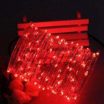 Led String Fairy Lights 10M 33ft 5V USB Powered (Red) - intl - 3