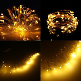Led String Fairy Lights 10M 33ft 5V USB Powered (Warm White) - intl - 3