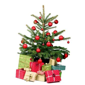 leegoal Christmas Baubles Tree Balls Decorations Ornament Xmas Tree Festival Party Pendant Baubles,24pcs,4cm,Red - intl - 4