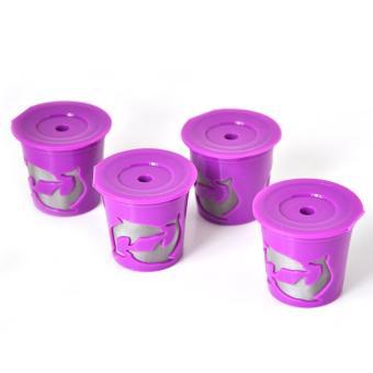 Leegoal Keurig Kcup Reusable Filter Cup For Keurig 2.0 And 1.0Brewers - Purple - intl - 4