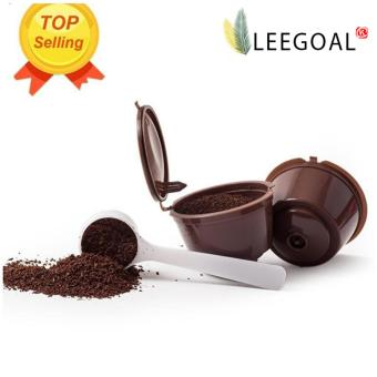 Leegoal Refillable Nescafe Dolce Gusto Capsules Filter CupCompatible with Mini Me, Genio, Piccolo, Esperta and Circolo - intl