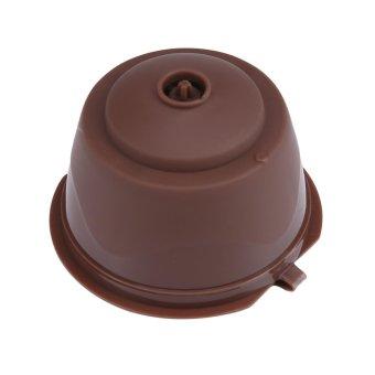 leegoal Refillable Nescafe Dolce Gusto Capsules FilterCup,Compatible With Mini Me, Genio, Piccolo, Esperta AndCircolo,Coffee - intl - 3