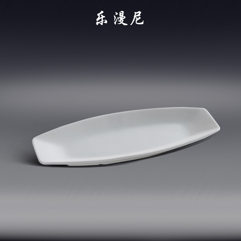Lemanni Japanese and Korean style ceramic tableware steamed fish dish boat-shaped Plate & Philippines | Lemanni Japanese and Korean style ceramic tableware ...