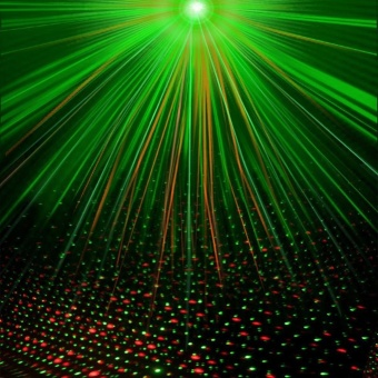 Lena Mini Stage Lighting LED Laser Projector, Red And Green Star Activated / Automatic / Flash Fda Certification For The Club Disco Djparty. - intl - 5