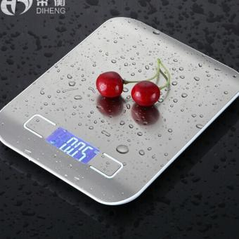 Leyi Precision household kitchen scale baking weighing food White - intl