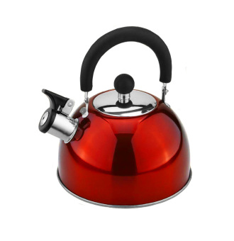 Lifestyle ILSWK-25R Induction Whistling Kettle 2.5L (Red)