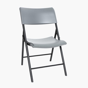Lifetime Folding Chair (Dark Grey)