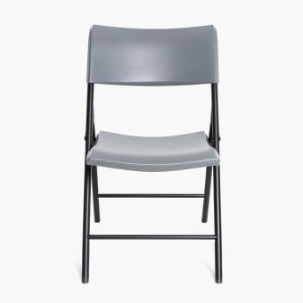 Lifetime Folding Chair (Dark Grey) - 2