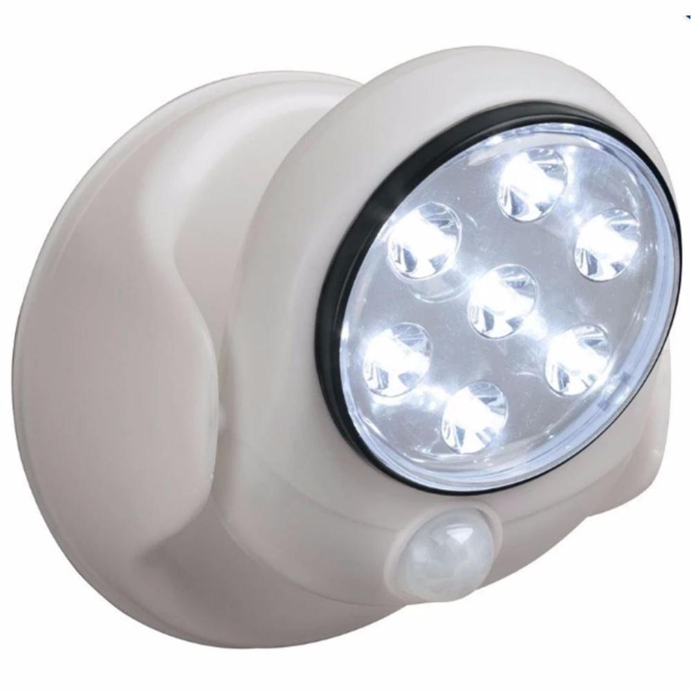 Light Angel Motion Activated Cordless LED Night Sensor Light(White) Set of 4
