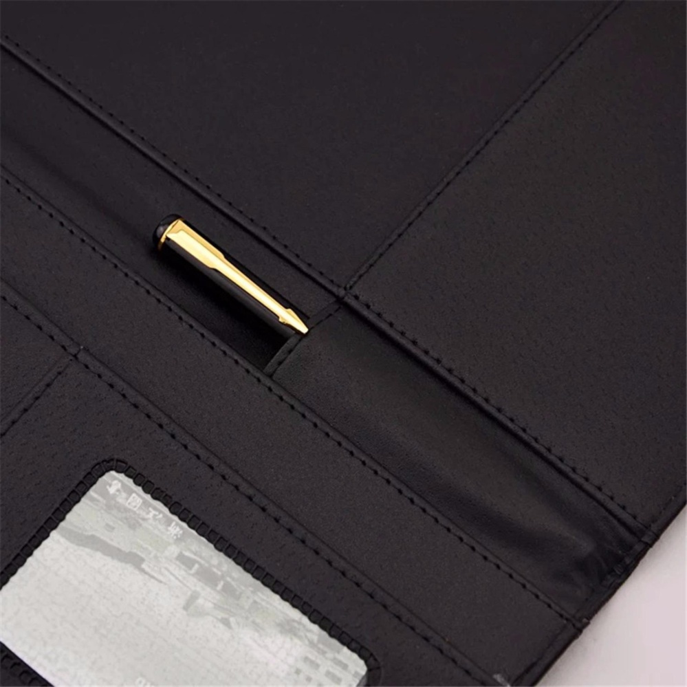 Philippines | Lined Paper Zip Around PU Leather Loose Leaf ...