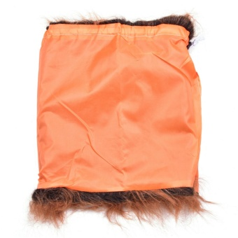 Lion Mane Headwear Wig for Dogs Dogloveit Dog Costume with GiftType D Light Brown With Ear - intl - 4
