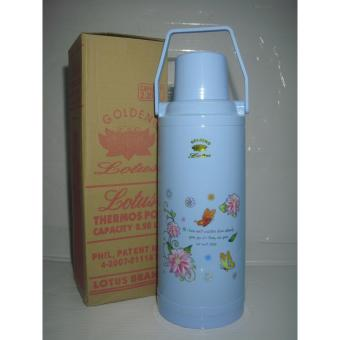 Lotus N-2010 Thermos Vacuum Flask 2.2Liters - Blue Price Philippines