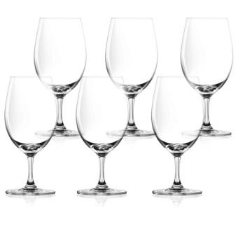 Lucaris Bangkok Bliss Aqua Wine Glass Set of 6 (Clear)