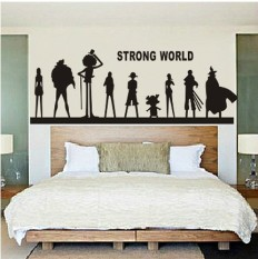 Philippines Luffy Cartoon Bedroom Library Living Room Wall