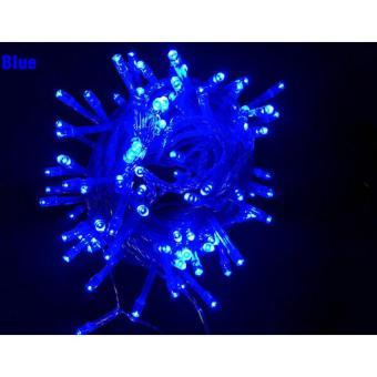 Blue Star String Lights : Mabuhay Star 100 LED String Christmas Lights (Blue) Lazada PH