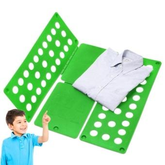 Magic Fast Clothes Folder Adjustable Adult T-Shirts Folding Board - intl - 4