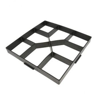 MagiDeal DIY Pathmate Concrete Stepping Stone Mould 40cm - 5