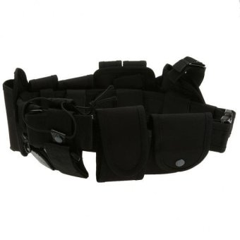 MagiDeal Utility Belt Waist Bag Security Police Guard Kit with Radio Holster Pouch - intl - 5
