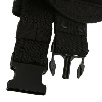 MagiDeal Utility Belt Waist Bag Security Police Guard Kit with Radio Holster Pouch - intl - 4