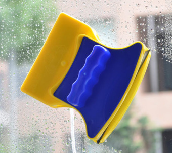 Magnetic Window Cleaner Double Side Glass Wiper Surface Brush