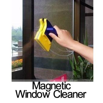 Magnetic Window Cleaner Double Side Glass Wiper Useful Surface Brush - intl