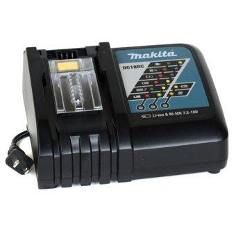 Makita DC18RC Rapid Fast Li-ion / Ni-MH Battery Charger Part # 630718-5 (Black)