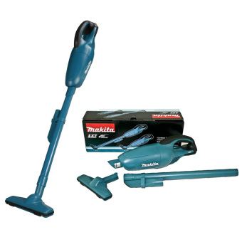 Makita DCL180Z 18V Cordless Vacuum Cleaner (Blue/Black) - 4