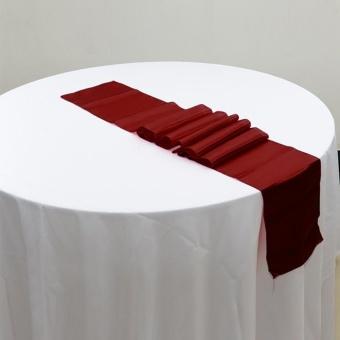 Makiyo 30cm*275cm Table Runner Banquet Wedding Christmas Home Party Table Cloth Decor - intl