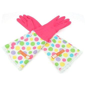 Man Lei Sibo Flower Sleeve Gloves (Rose Red)