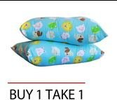Mandaue Foam Promo Pillow Buy 1 Take 1 (Multicolor)
