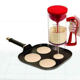 Manual Pancake Machine and Dispenser (Red) - picture 2