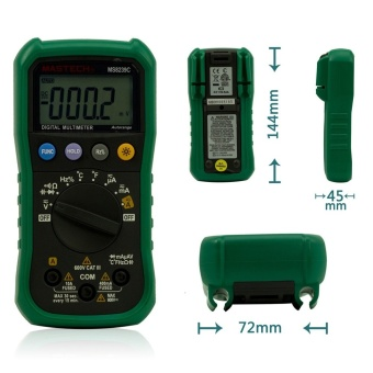 MASTECH MS8239C Auto Ranging Digital Multimeters Volt CurrentResistance Frequency Temp Capacitance Tester - intl
