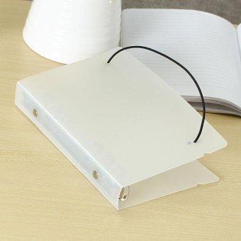 Matte Translucent Pp Loose Leaf Spiral Binder A6 Notebook Filofax Planner Diy 18512525cm Intl - Daftar