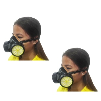 Meisons chemical respirator gas mask Double (2pcs)