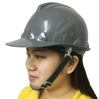 Meisons gray color hard hat safety helmet ABS