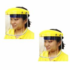 Meisons super face shield abs brow guard polycarbonate visor (2 sets) Philippines