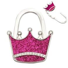 Metal Crown Shape Handbag Bag Hanger Table Hook - intl Philippines