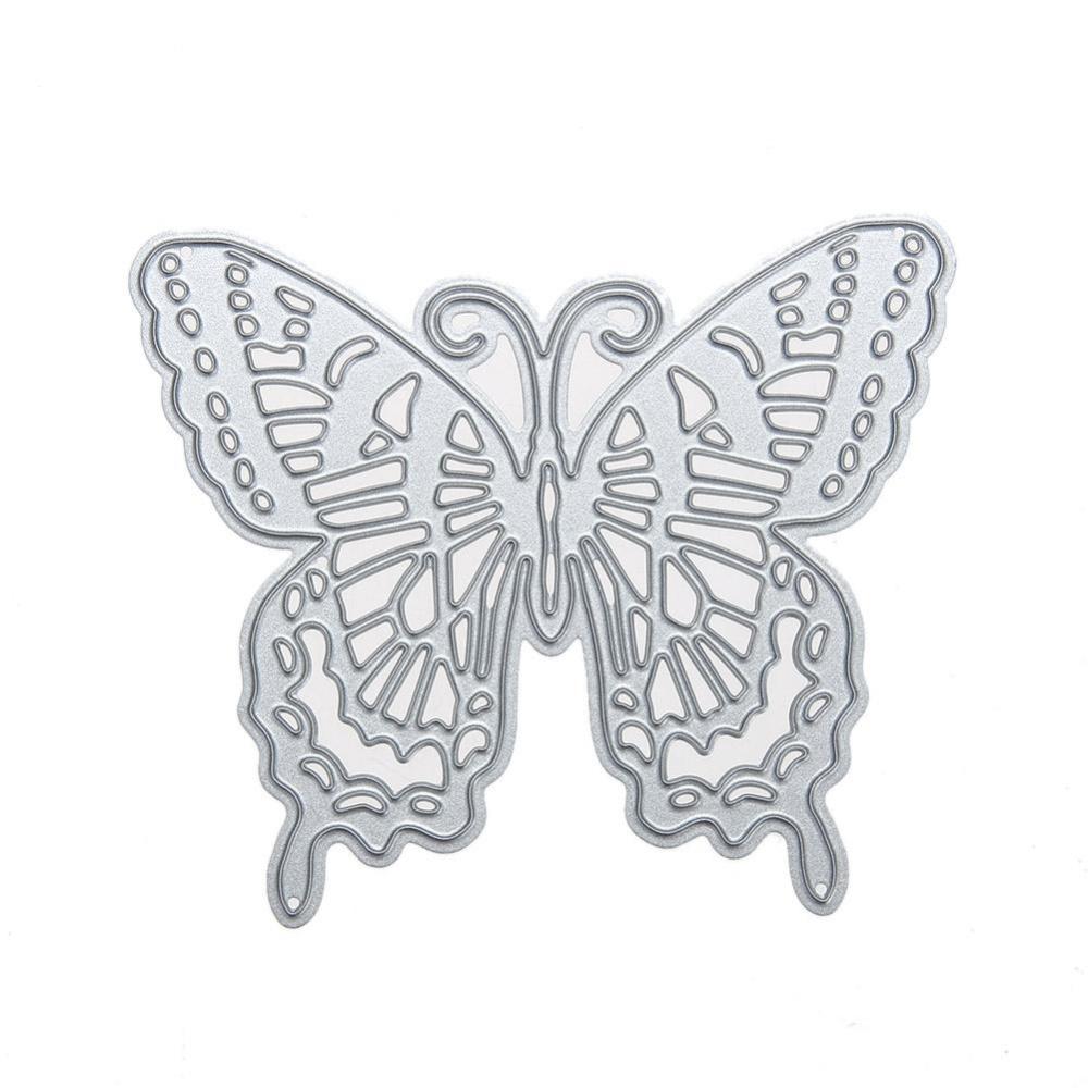 ... Metal Cutting Dies Stencil Butterfly DIY Scrapbooking Craft - intl ...