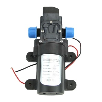Micro Electric High Pressure Diaphragm Water Pump Self Priming DC12V 60W Motor 5L/min - intl - 2