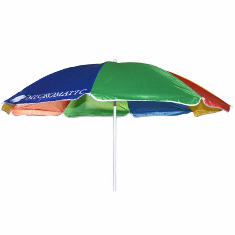 Philippines | Micromatic 36\' Beach Umbrella (Multicolor) Price Checker