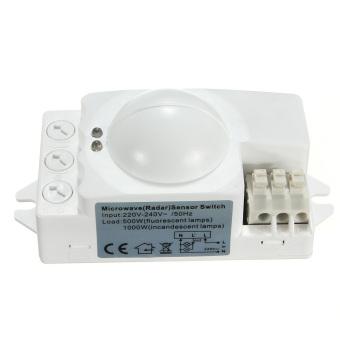 Microwave Smart Motion Sensor Light Radar Switch Ceiling Recessed Wall 360° 500W