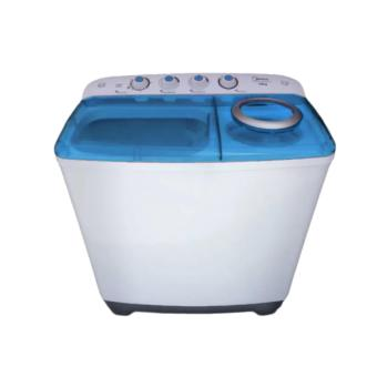 Midea FP-90LTT060GMTM-B 6 kg Twin Tub Washing Machine (Blue)