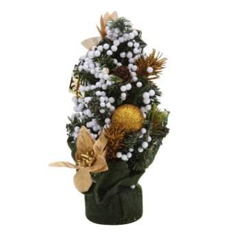 Mini Christmas Tree Festival Party Ornaments Xmas Decoration 2 -intl - 4
