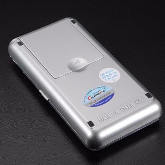 Mini Electronic Digital Jewelry Weighing Scale (Silver) - 4
