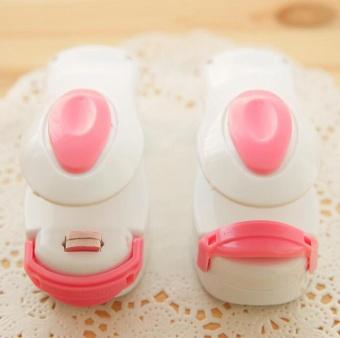Mini Portable Snacks Plastic Bag Sealer White + Powder Cover - intl - 2