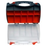 Model R237 Tool Box / Jewelry Box / Organizer / Cash Box Double size (Grey)