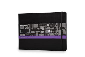 Moleskine Art Plus Black Page A4 Album (Black)